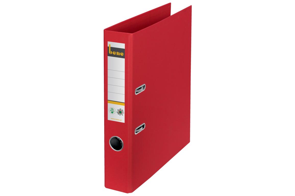 Ordner Bene CO2 neutral schmal rot, Art.-Nr. 301600-RT - Paterno B2B-Shop