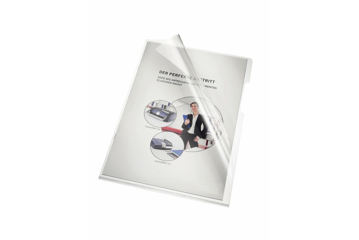 Aktenhüllen Bene A4 (220x310mm) 150 my glasklar, Art.-Nr. 205000-CL - Paterno B2B-Shop
