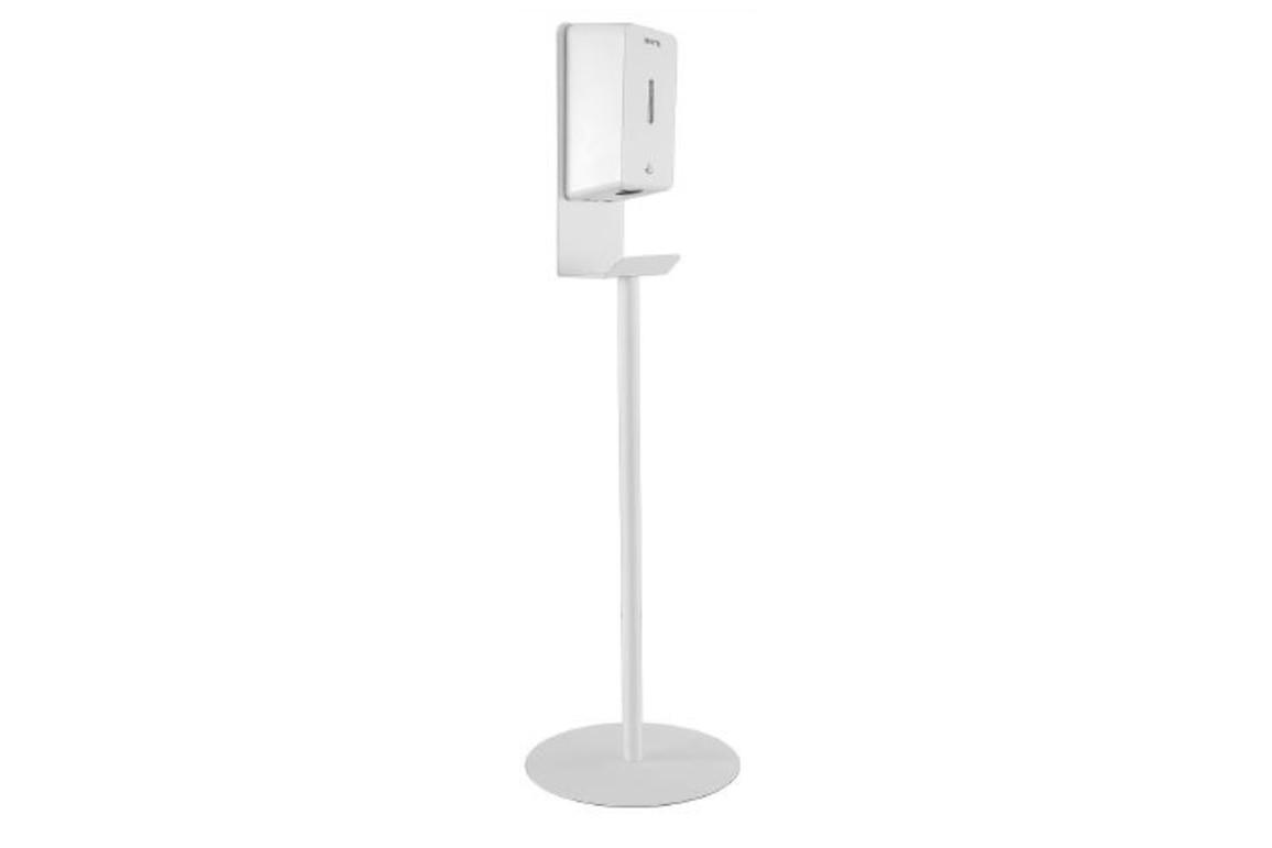 Dispenser Rexite mit Standfuß (mit Netzteil), Art.-Nr. 2655WEISS - Paterno B2B-Shop