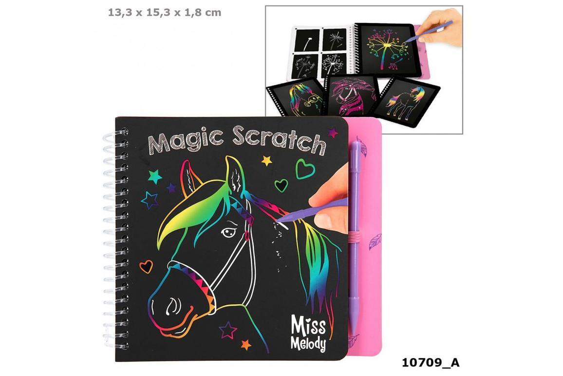 Scratch Book MISS MELODY Kratzbuch, Art.-Nr. 0010709 - Paterno B2B-Shop