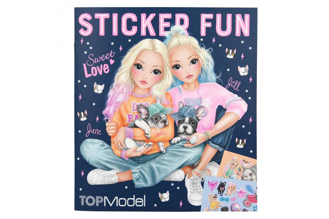 Stickerbuch Dog TOP MODEL, Art.-Nr. 0010740 - Paterno B2B-Shop